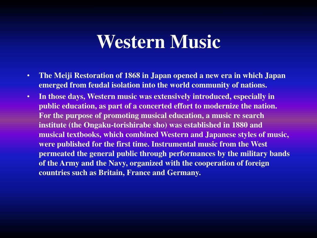 Western Music