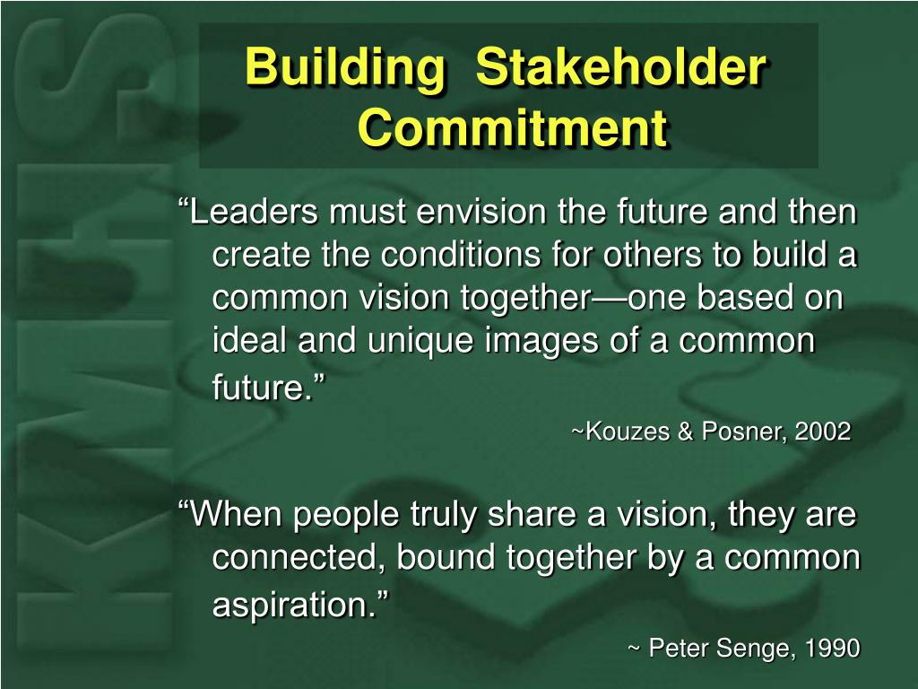 Building  Stakeholder