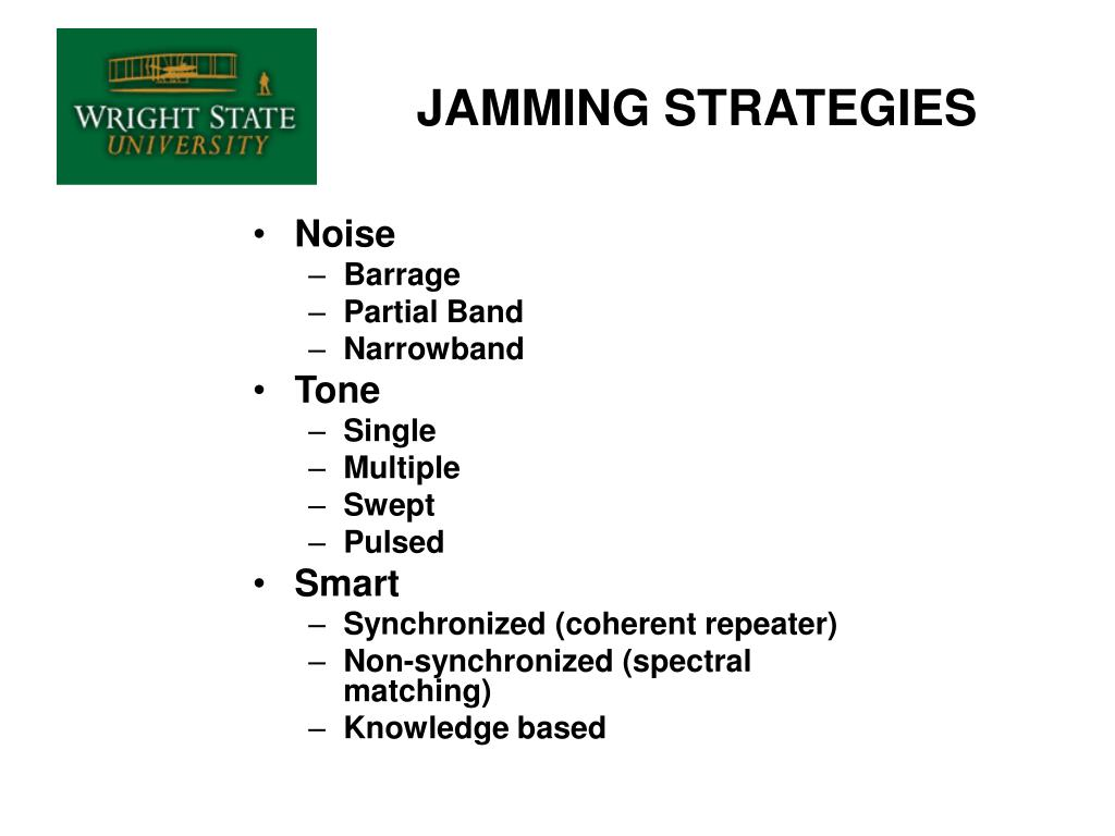 JAMMING STRATEGIES