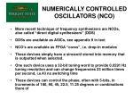 numerically controlled oscillators nco