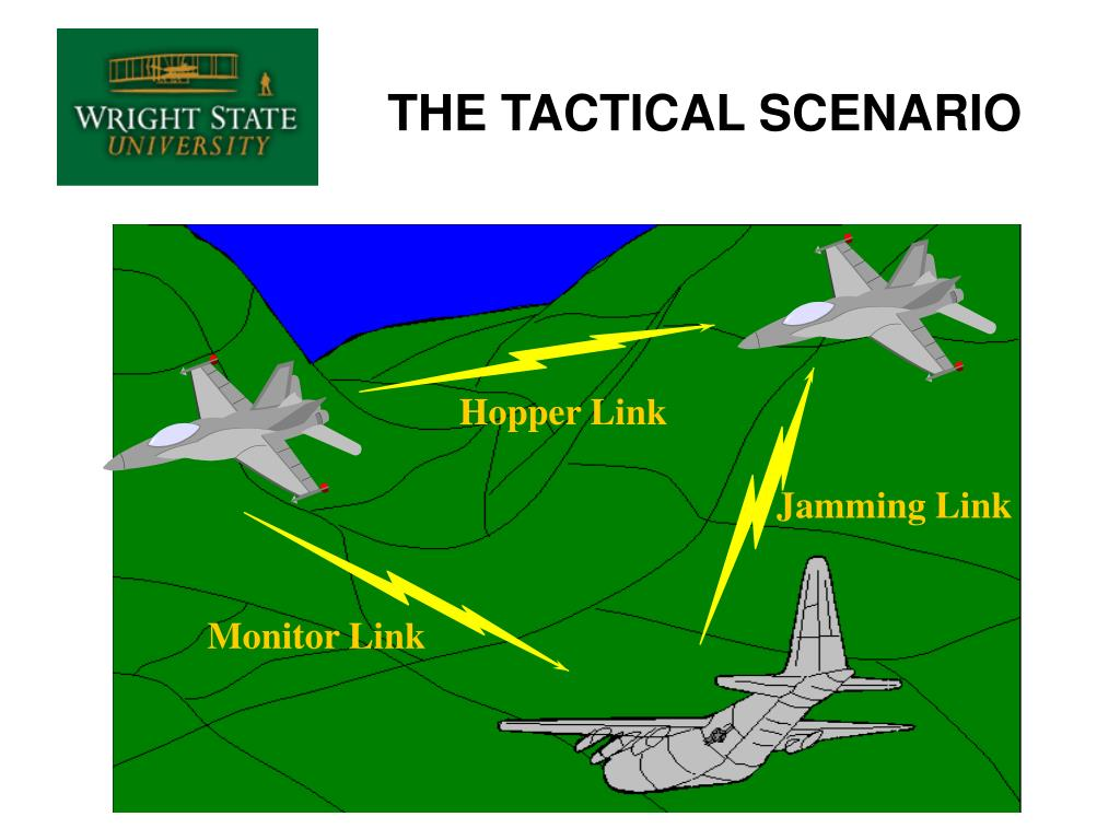 THE TACTICAL SCENARIO