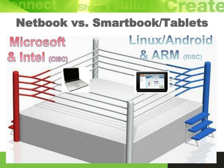 Netbook vs. Smartbook/Tablets