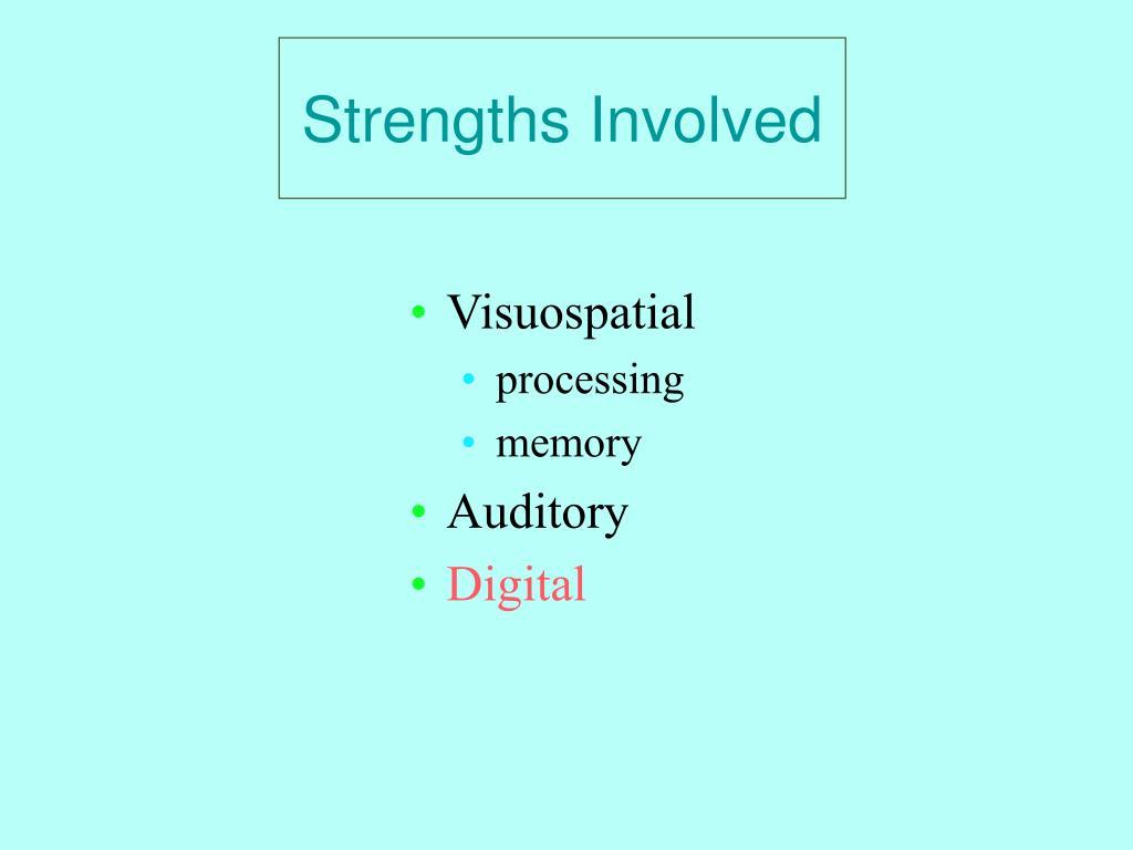 Strengths Involved