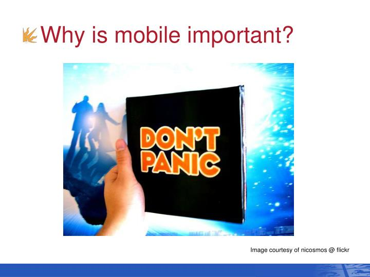 Why is mobile important?