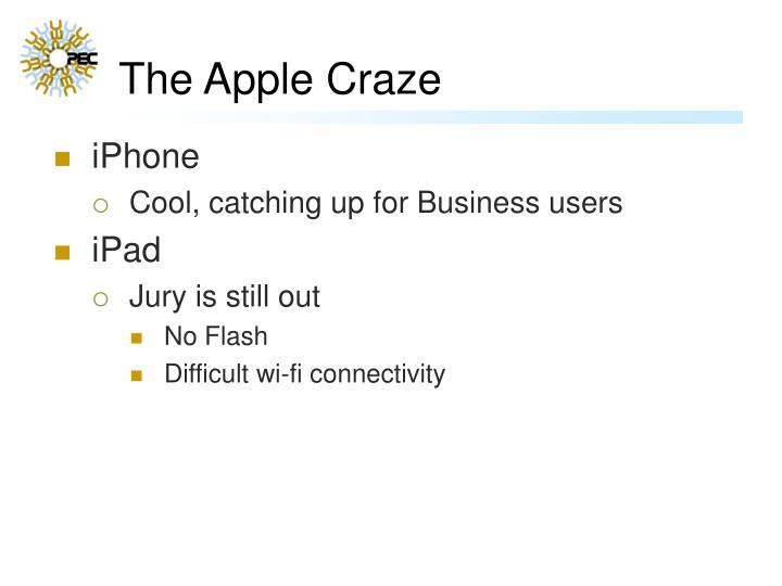 The Apple Craze