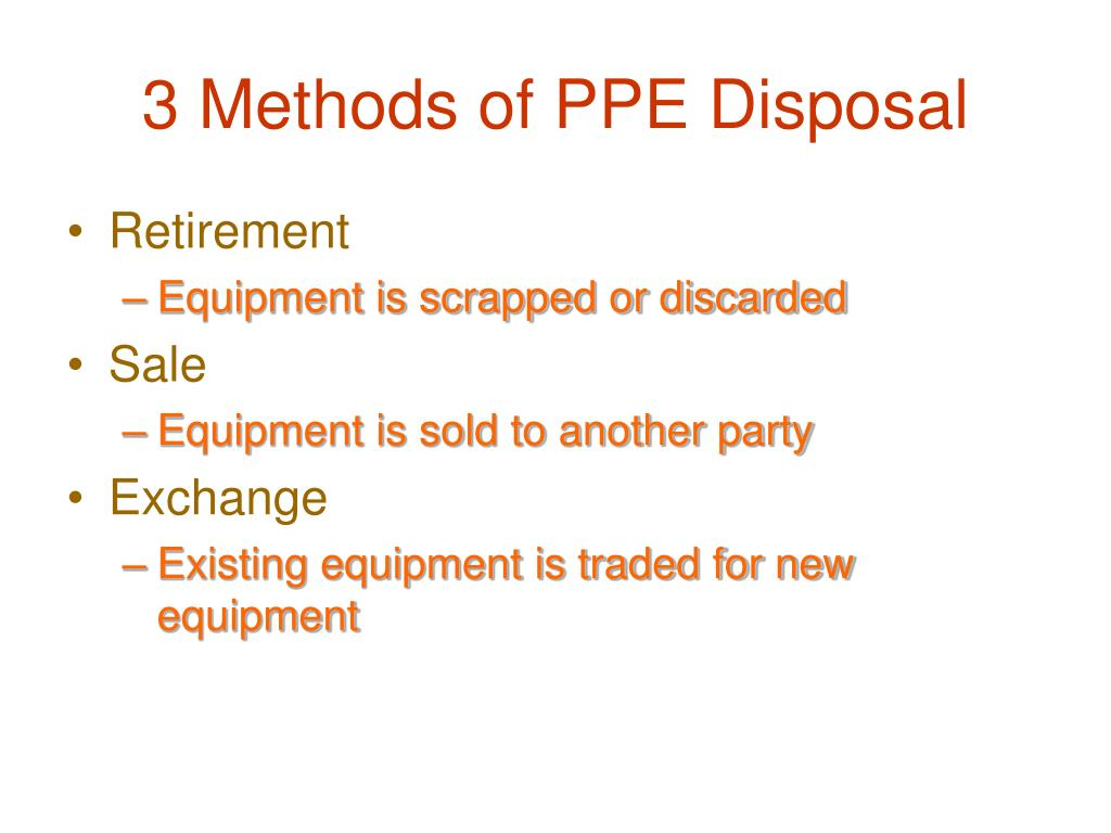 3 Methods of PPE Disposal