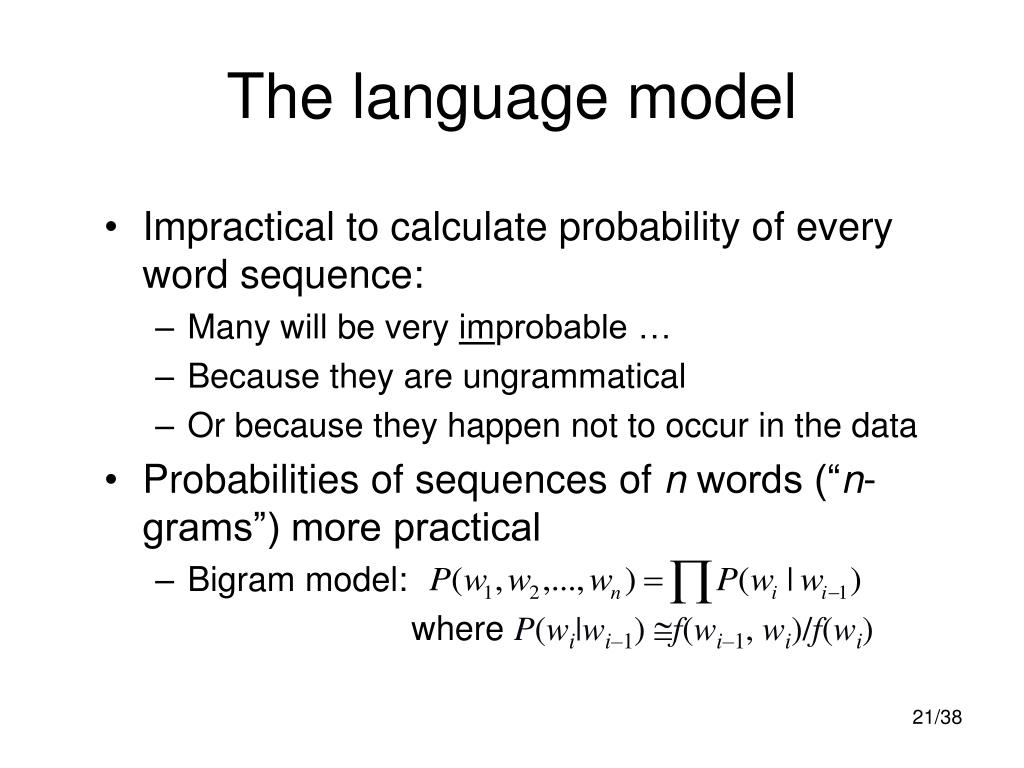 The language model