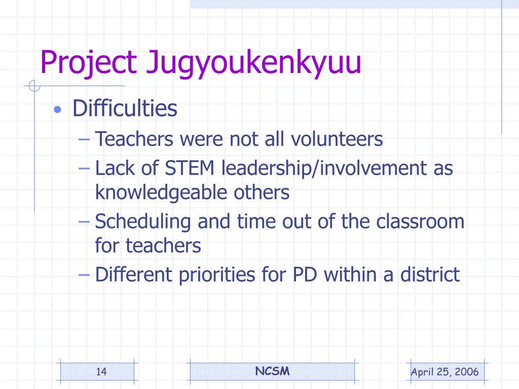 Project Jugyoukenkyuu
