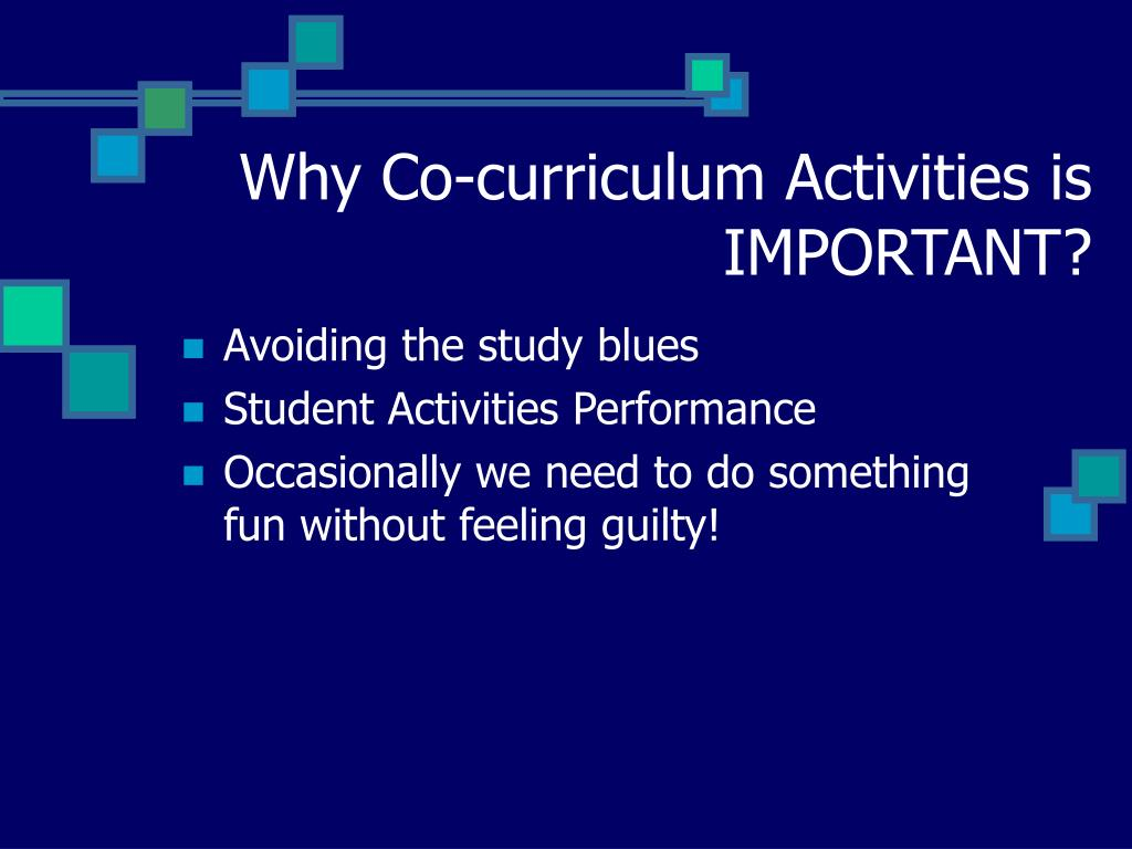 Why Co-curriculum Activities is IMPORTANT?