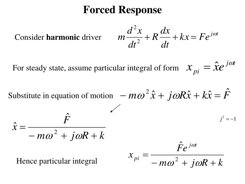 Forced Response