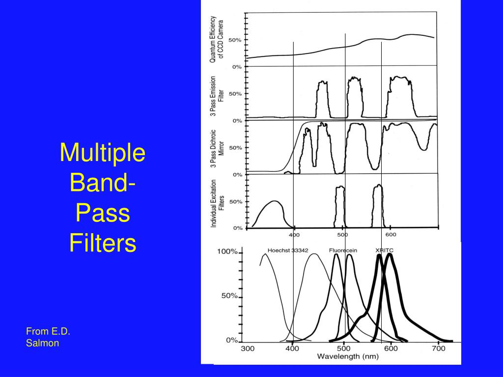 Multiple Band-Pass Filters
