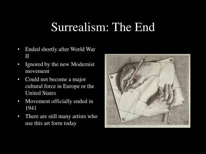 an introduction to the history of surrealist movement in the united states Franklin rosemont was co-founder of the chicago surrealist group he was born in chicago, illinois his father, henry, was a labor activist his mother, sally, was a jazz musician he edited.