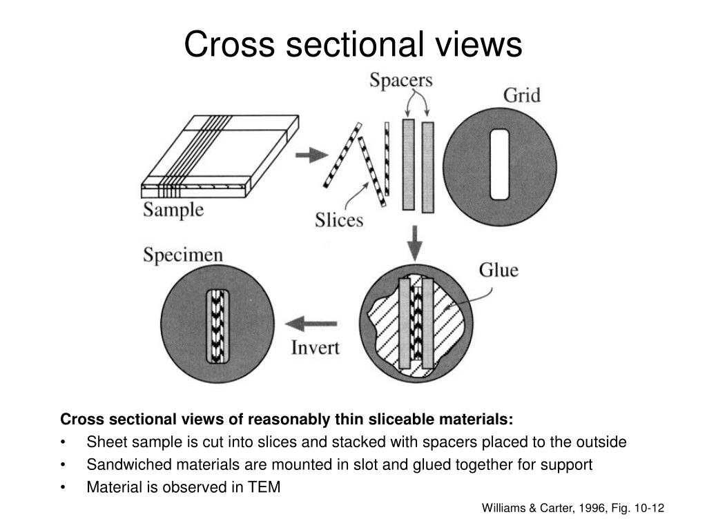 Cross sectional views