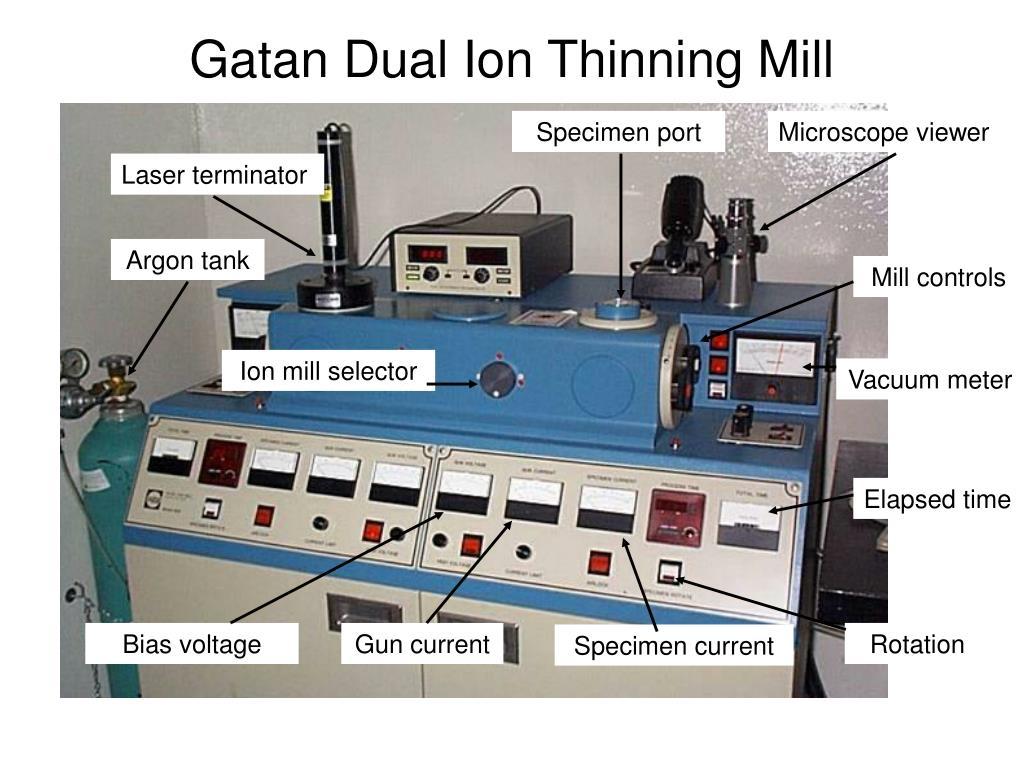 Gatan Dual Ion Thinning Mill