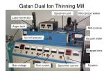 gatan dual ion thinning mill50