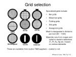 grid selection