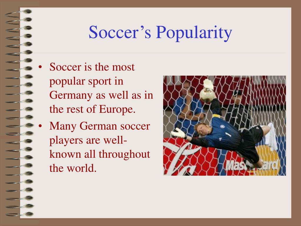 Soccer's Popularity