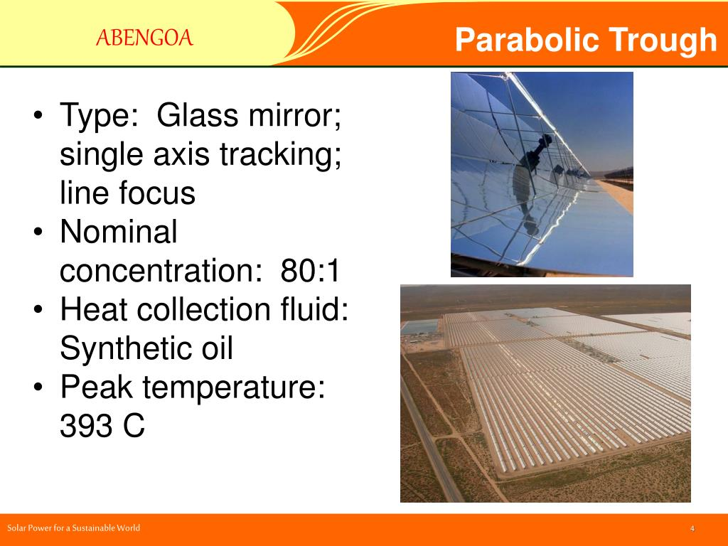 Parabolic Trough