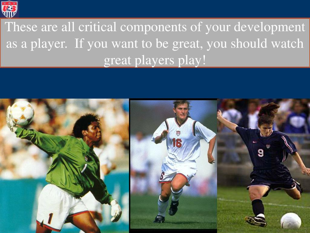 These are all critical components of your development as a player.  If you want to be great, you should watch great players play!