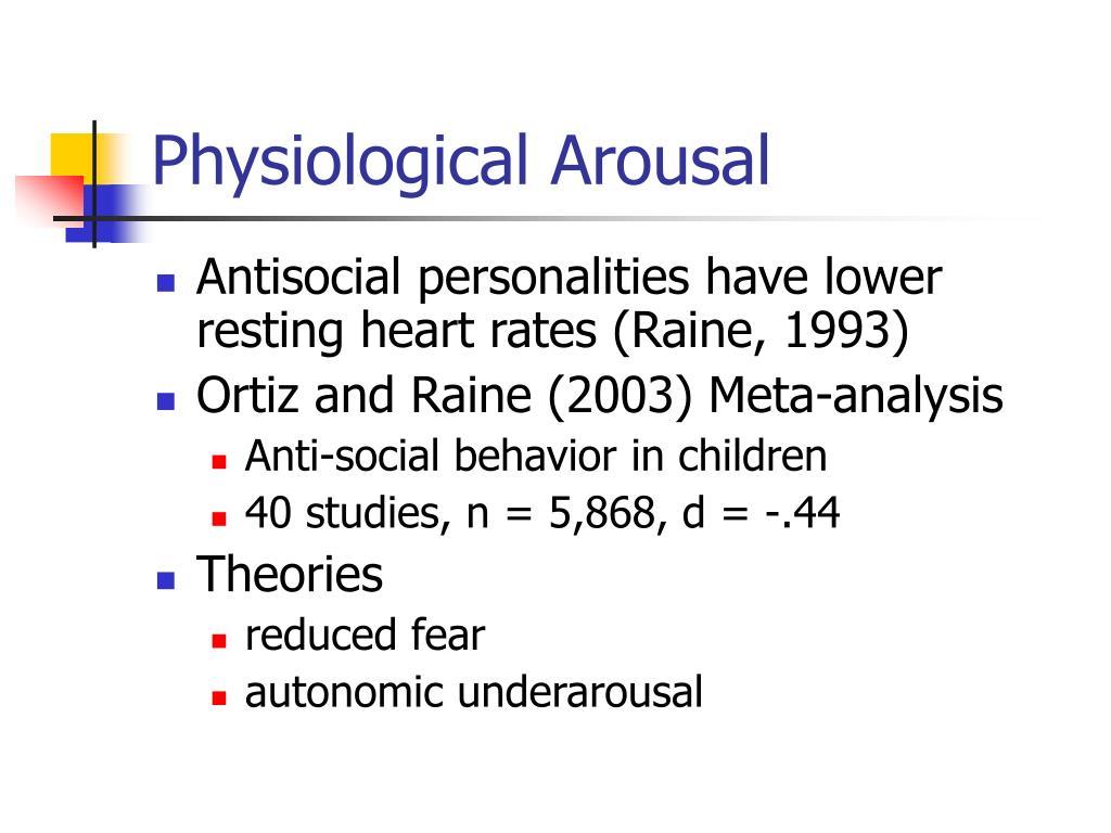 Physiological Arousal