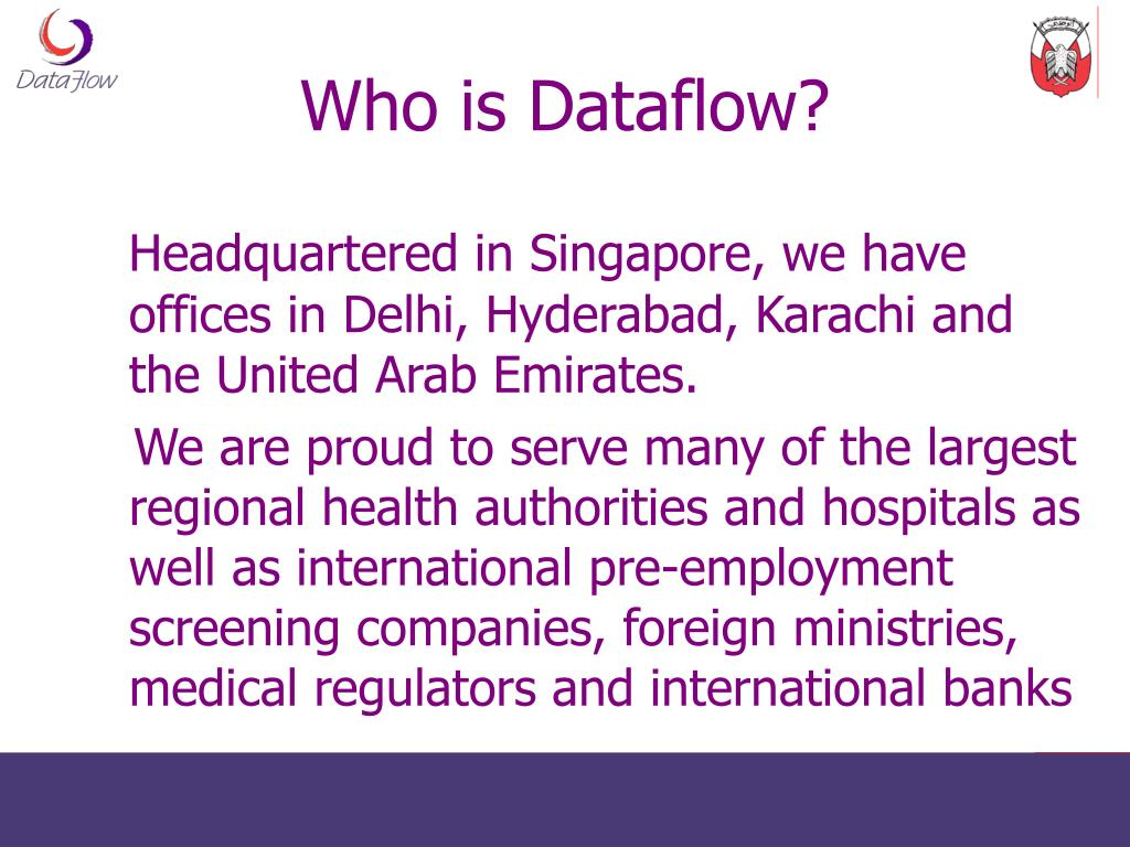 Who is Dataflow?