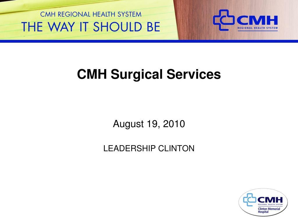 CMH Surgical Services