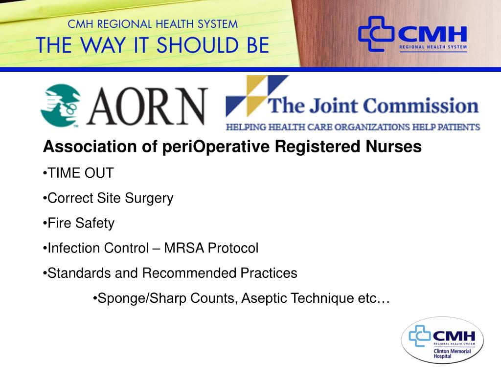 Association of periOperative Registered Nurses