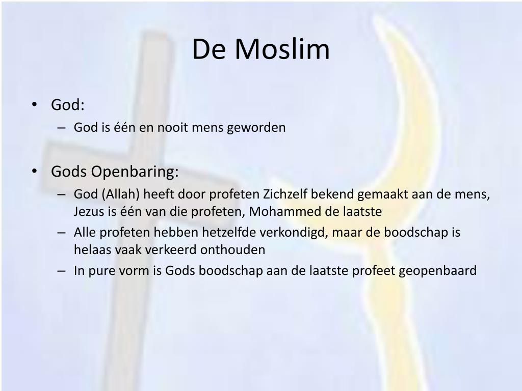 De Moslim