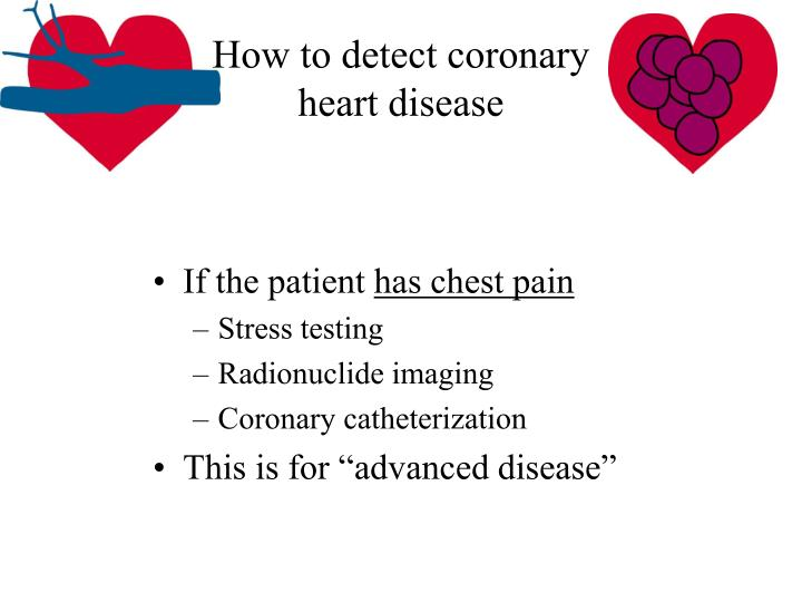 How to detect coronary heart disease