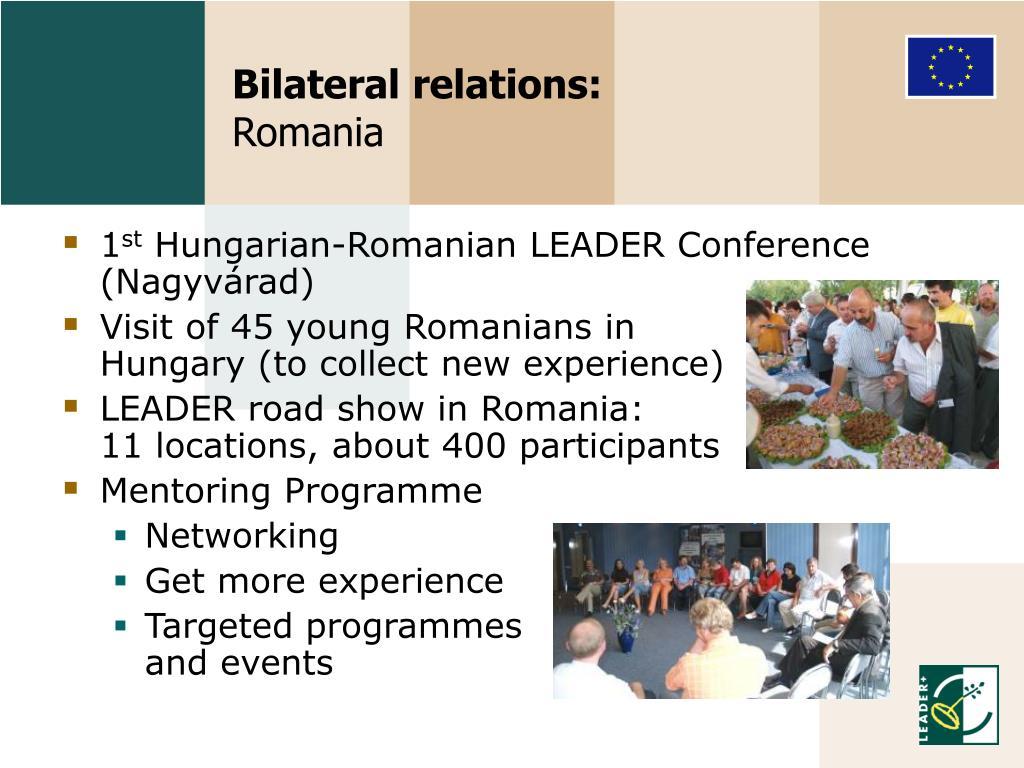 Bilateral relations: