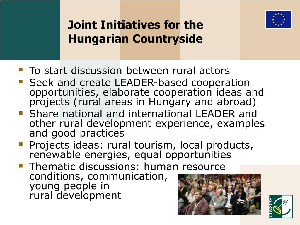Joint Initiatives for the
