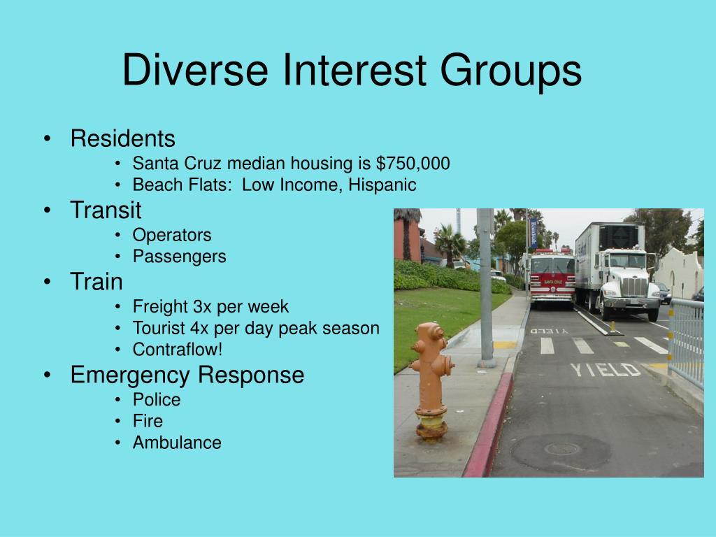 Diverse Interest Groups
