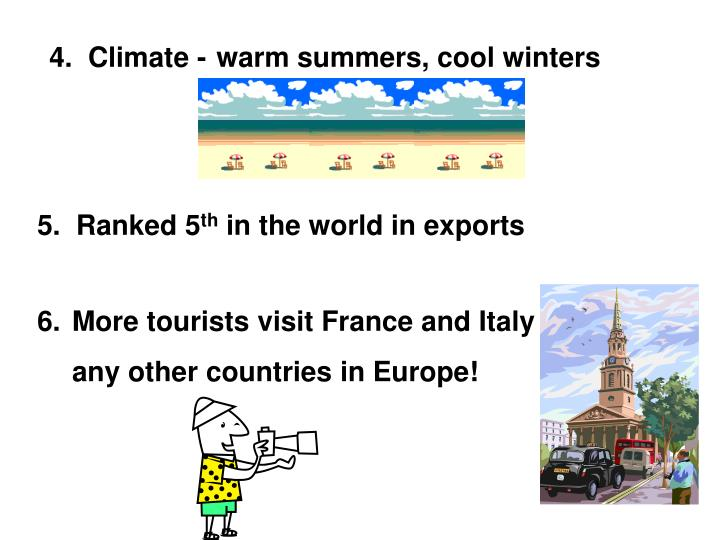 4.  Climate -