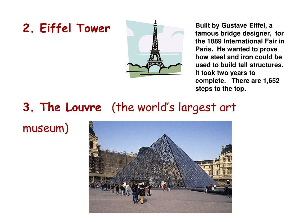 2. Eiffel Tower