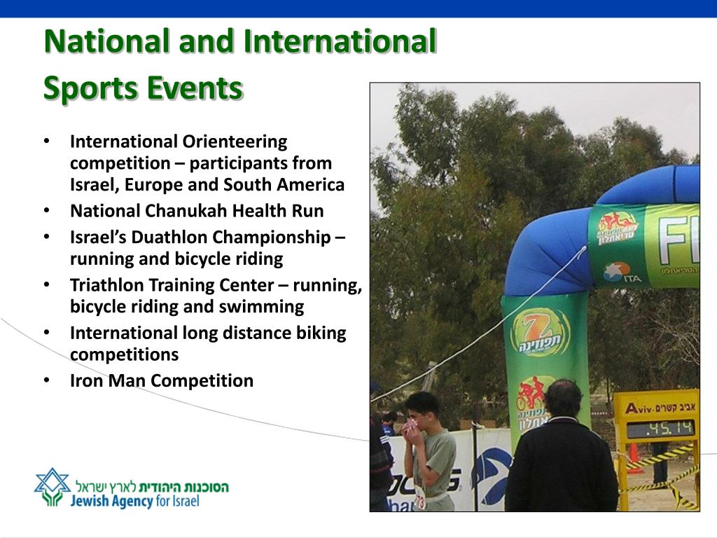 International Orienteering competition – participants from Israel, Europe and South America