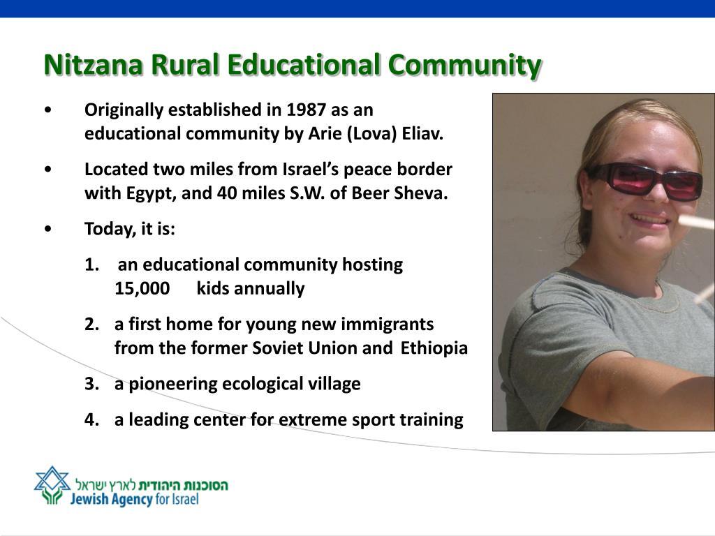 Nitzana Rural Educational Community