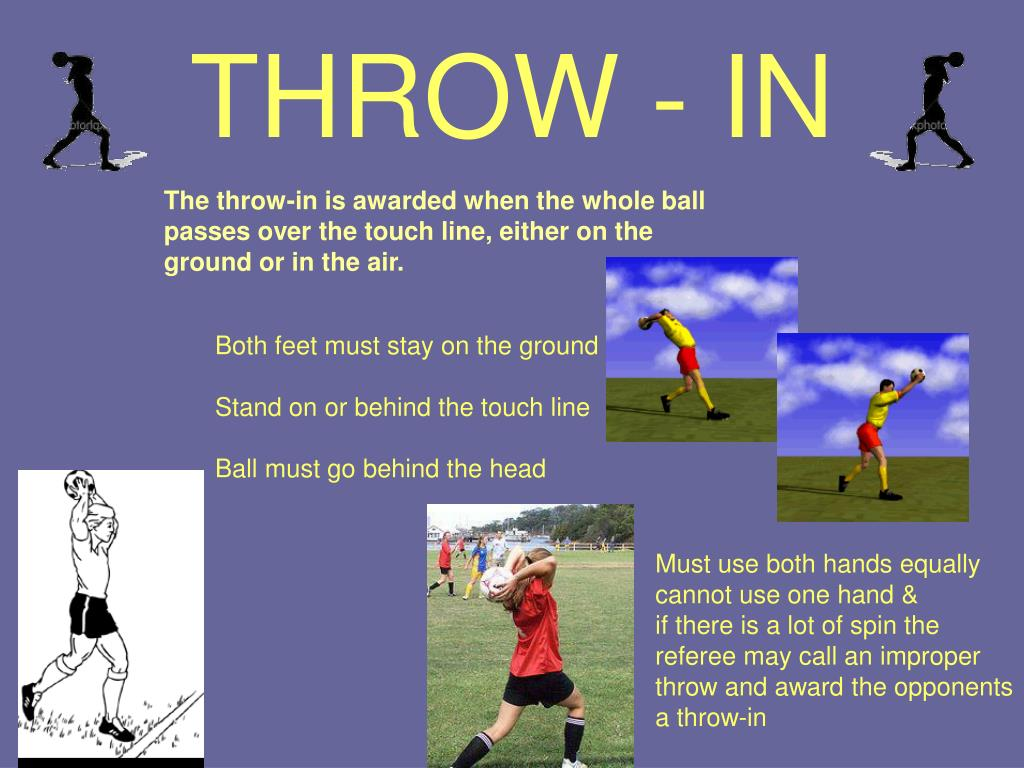 THROW - IN