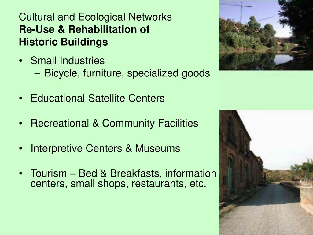 Cultural and Ecological Networks