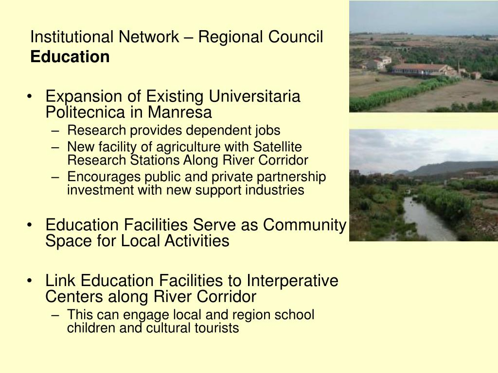 Institutional Network – Regional Council