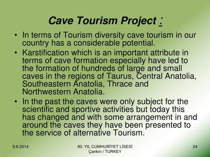 Cave Tourism Project