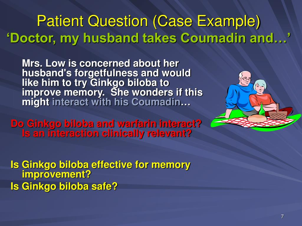 Patient Question (Case Example)