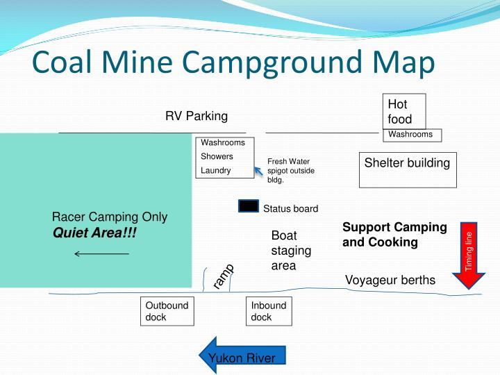 Coal Mine Campground Map