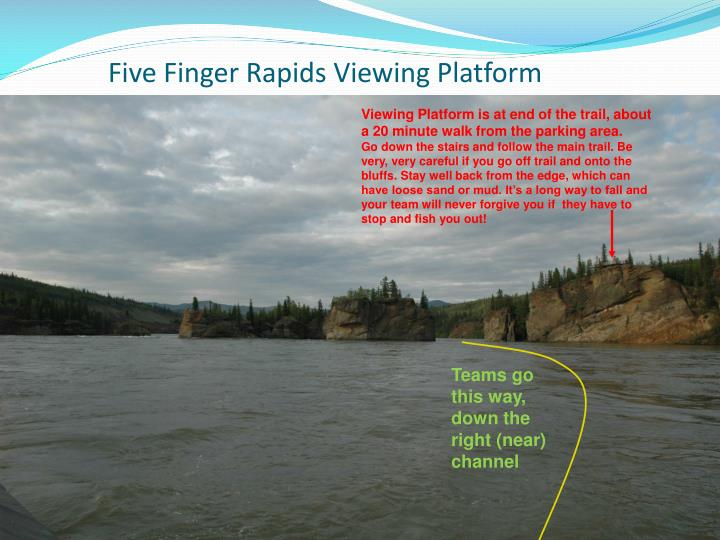 Five Finger Rapids Viewing Platform