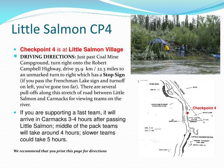 Little Salmon CP4
