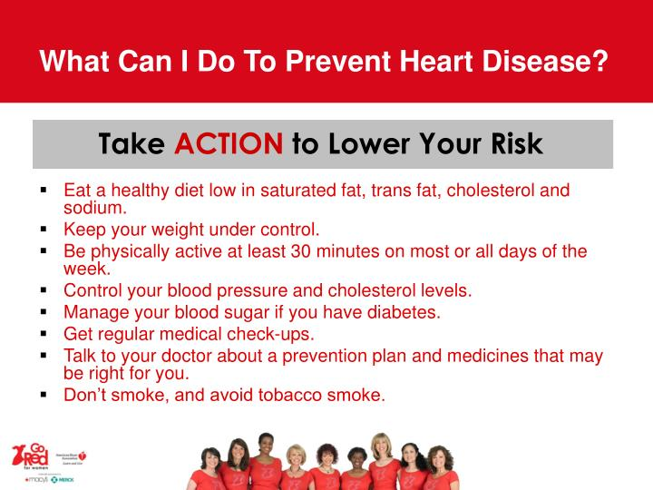 What Can I Do To Prevent Heart Disease?