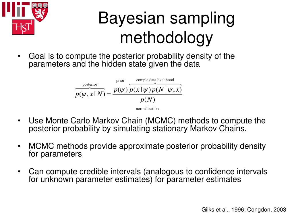 Bayesian sampling methodology