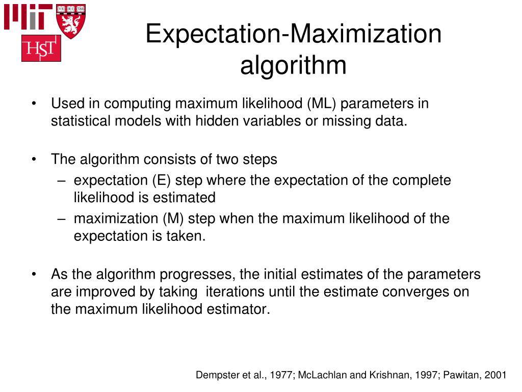 Expectation-Maximization algorithm