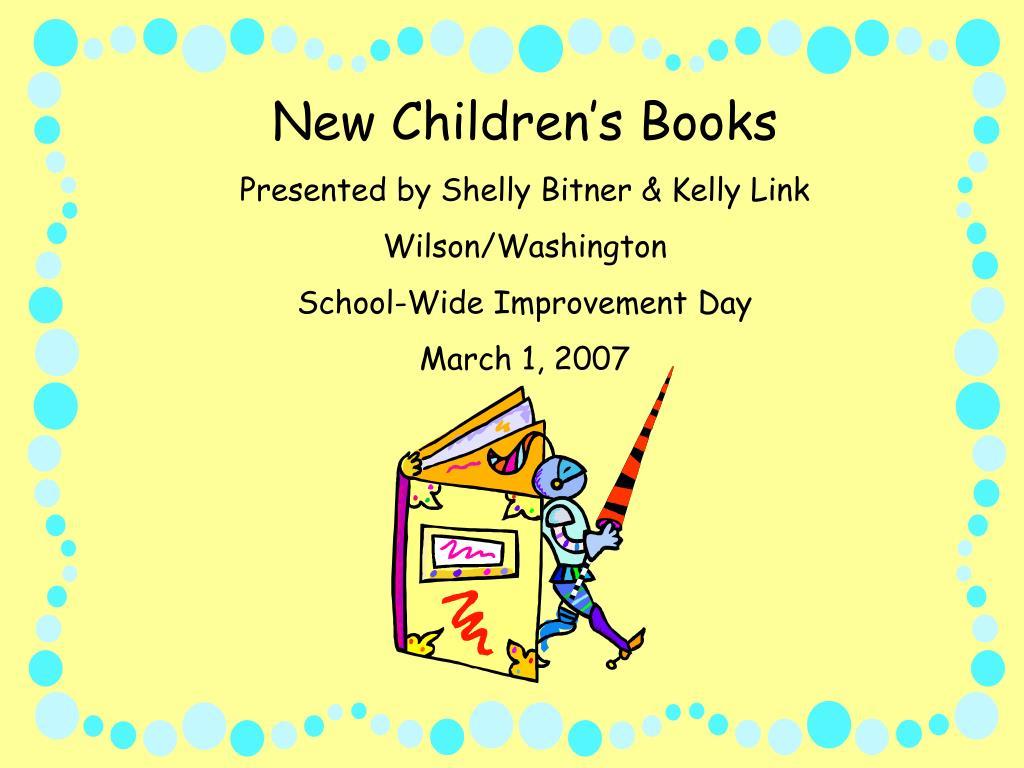 New Children's Books