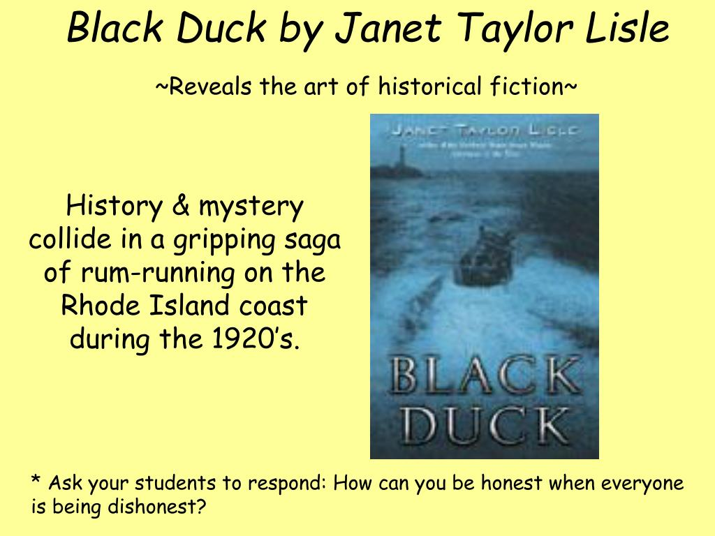 Black Duck by Janet Taylor Lisle