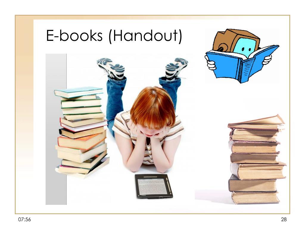 E-books (Handout)